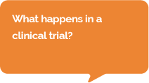 Question: What happens in a clinial trial?