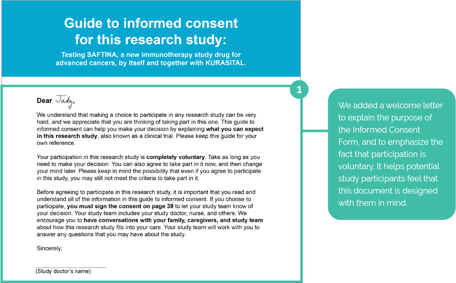 Our Output UPL Design – Informed Consent Form
